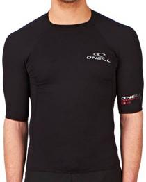 Oneill Thermo-X Fleece Lined Rashguard Men or Women Front