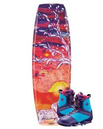 CWB Wild Child 131 Wakeboard 2015 Ember Boots closeout