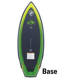 Byerly Misfit Wakesurfer Wake Surf Board 2019 Base