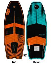 "Hyperlite Quad 55"" Wakesurfer Wake Surf Board 2019 base"