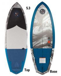 Hyperlite Shim 5.3 Wakesurfer Wake Surf Board 2019