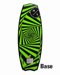 Hyperlite Time Machine Wakesurfer Wake Surf Board 4'11""