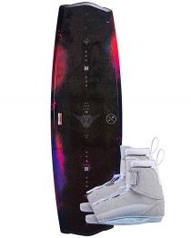 Hyperlite Eden 2.0 Womens Wakeboard 2019 with Viva Boots