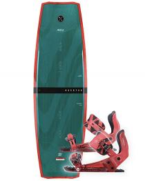 Hyperlite Hashtag Wakeboard 2019 with System Pro Red Bindings