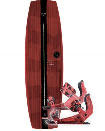 Hyperlite Jam Wakeboard 2019 with System Pro Red Bindings