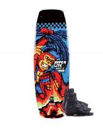 Hyperlite Murray Jr Wakeboard 2019 with Formula Boots