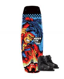 Hyperlite Murray Jr Wakeboard 2019 with Remix Black Boots