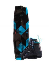 Hyperlite State 2.0 Jr Wakeboard 2019 with Remix Boots