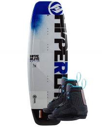 Hyperlite Motive Jr Wakeboard 2019 with Boys Remix Boots