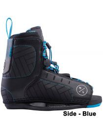 Hyperlite Remix Wakeboard Boots Blue 2019 Side