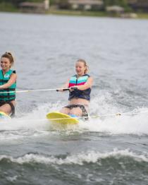HO Sports Electron Kneeboard 2019 Action 1