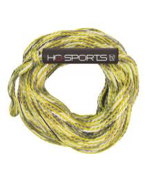 HO Sports 2k 60ft Tube Rope 2019 Yellow