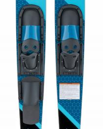 Connelly Quantum Combo Waterskis 2020 binding closeup