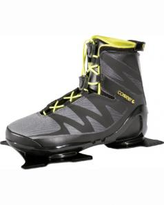 Connelly Sync Water Ski Binding Blk/Yellow 2019