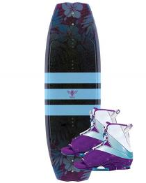 Connelly Lotus Womens Wakeboard 2019 with Karma Boots