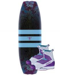 Connelly Lotus Womens Wakeboard 2019 with Optima Boots