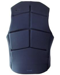 ONeill Outlaw Mens Comp Wake Vest Black 2019 back