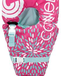 Connelly Baby Safe Nylon Life Jacket PINK for GIRL
