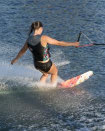 HO Womens Freeride Slalom Water Ski 2019 Action 2