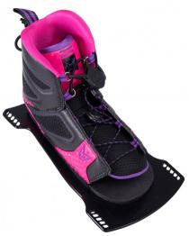 HO Womens FreeMax Water Ski Boot 2019 Front Plate