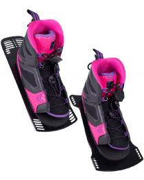 HO Womens FreeMax Water Ski Boot 2019 Front Rear Plate