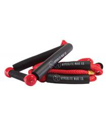 Hyperlite 25' Riot Surf Rope + Handle 2019 Red