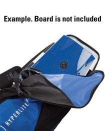 Hyperlite Essential Wakeboard Bag 2019 Blue open