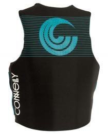 Connelly Womens Promo Neoprene Life Vest 2019 Teal Back