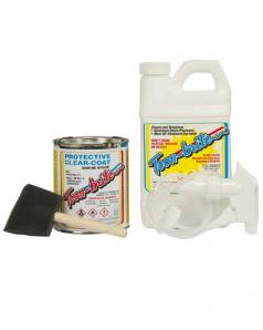 Toon-Brite Aluminum Cleaner and Protective Clear-Coat Kit