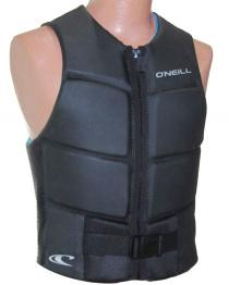 ONeill Outlaw Mens Comp Wake Vest Black + blue