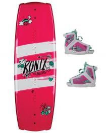 Ronix August Kids Girls Wakeboard 2019 with August Boots