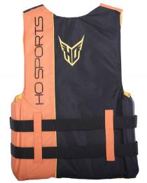 HO Infinite Mens Nylon Life Vest ORANGE back