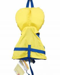 Connelly Infant Nylon Life Vest Boys Yellow BACK