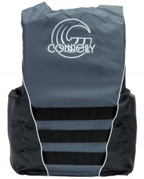 Connelly Mens Promo 4 Belt Nylon Life Vest 2020 Back