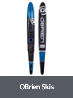 Obrien slalom waterskis and combo pairs