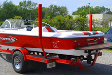 Mastercraft heavy duty trailer guide pole covers | wakeboards. Com.