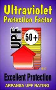 UPF 50 SPF 50 Protection